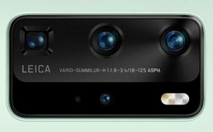 Påstådda bilder på Huawei P40 Pro