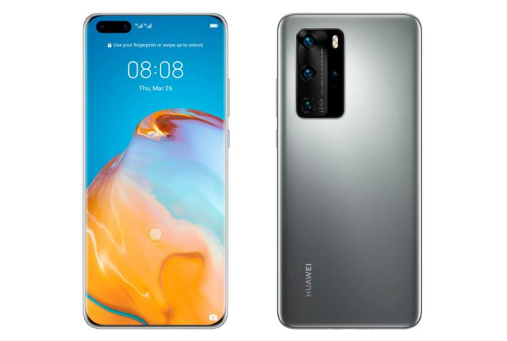 Huawei offentliggör flaggskeppet P40 Pro