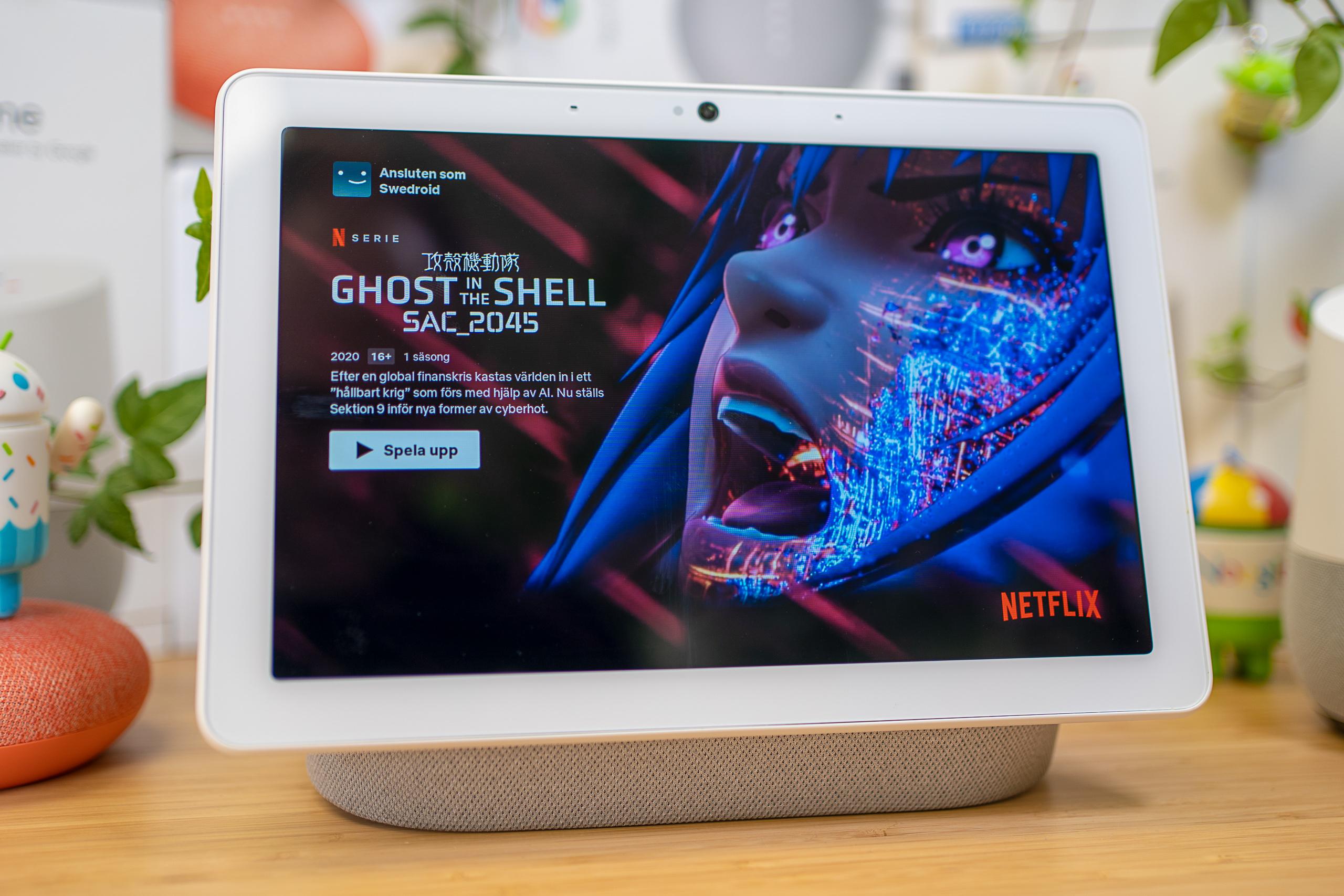Google Nest Hub och Nest Hub Max erhåller Netflix-stöd