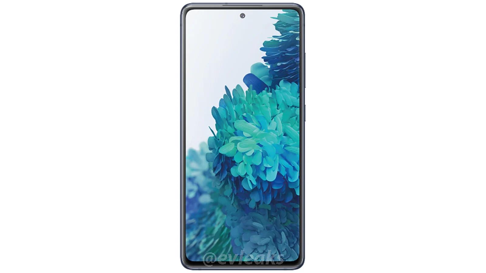 Samsung Galaxy S20 Fan Edition fica preso na imagem