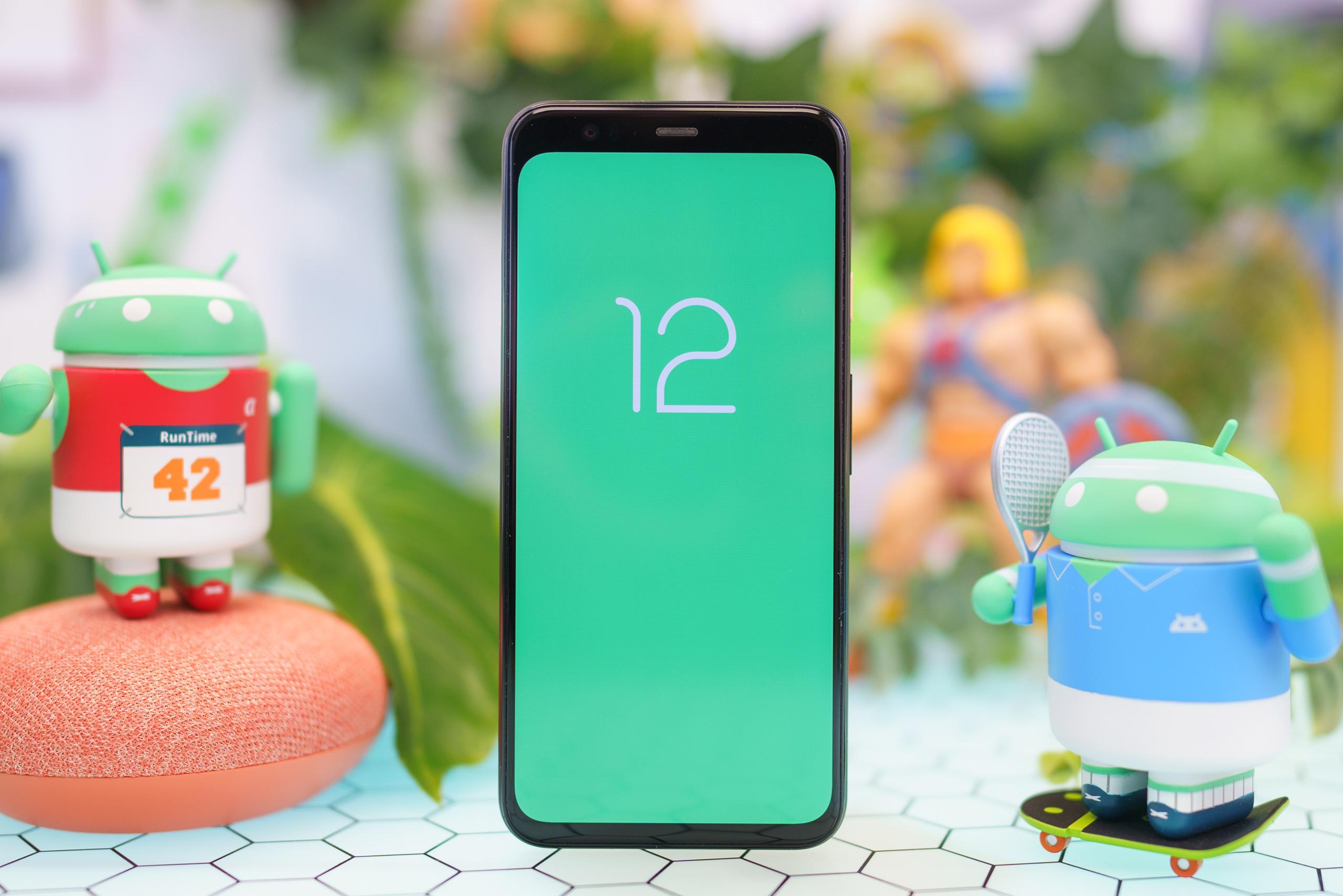 Android 12 erbjuder sätt att styra systemet med ansiktet