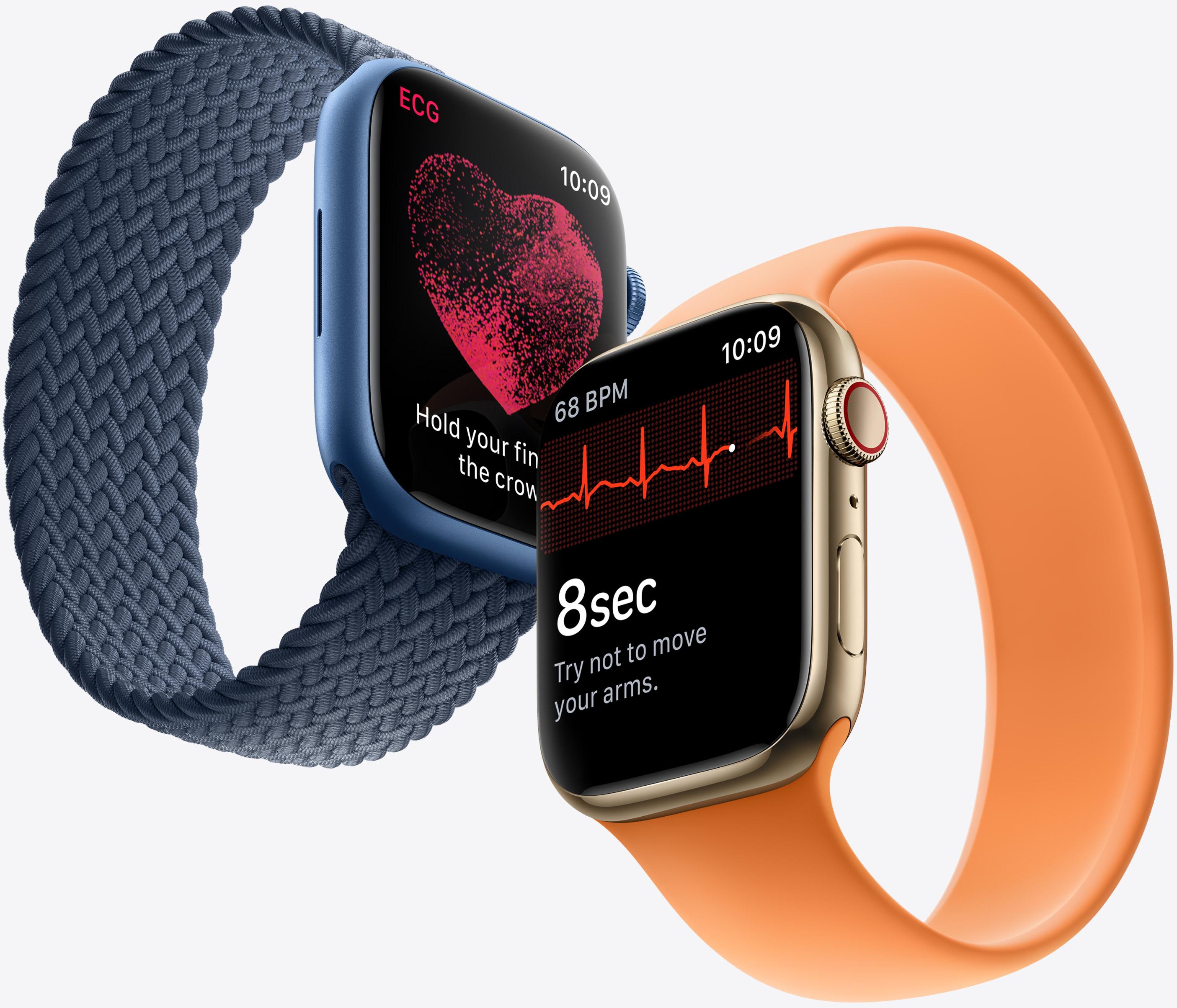 Här är nyheterna i Apple Watch Series 7