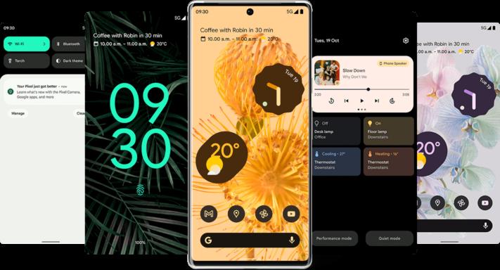 Google Pixel 6 kan få Android 16